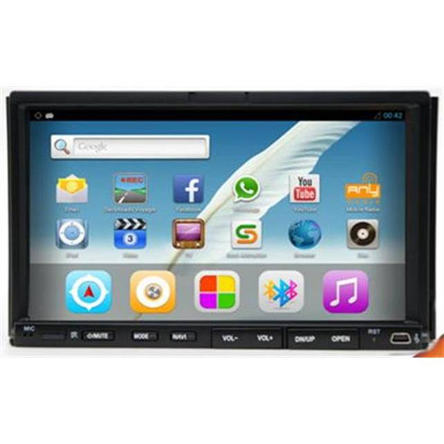 Android 4.2.2 7 2-Din Universal Car DVD/GPS/Bluetooth + RDS + Remote Control + iPod + USB/SD/Aux-In