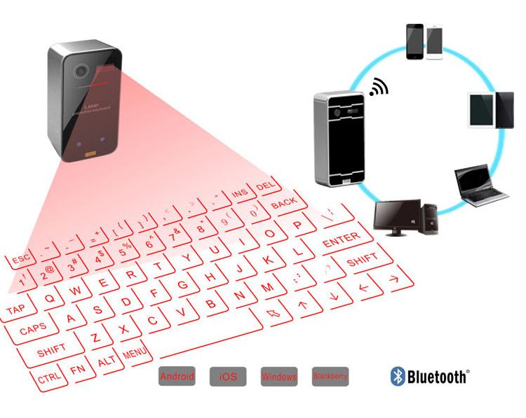 Bluetooth Laser Projection Keyboard K03