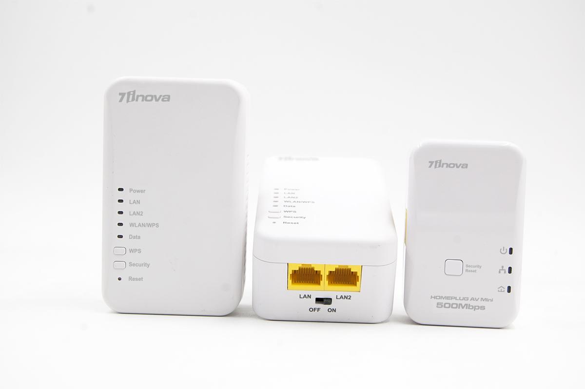 300Mbit AV500 WIFI POWERLINE EXTENDER STARTER KIT