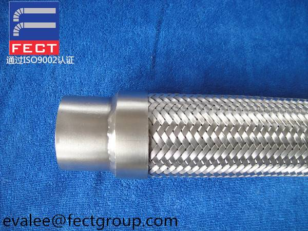 Stainless Steel Flexible Hose With Welded End Fittings