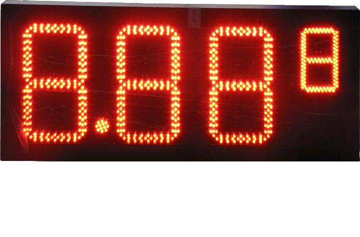 led gas display