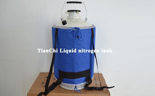 TIANCHI liquid nitrogen storage tank 10L in Lithuania