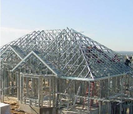 Steel Framing Luxury Home