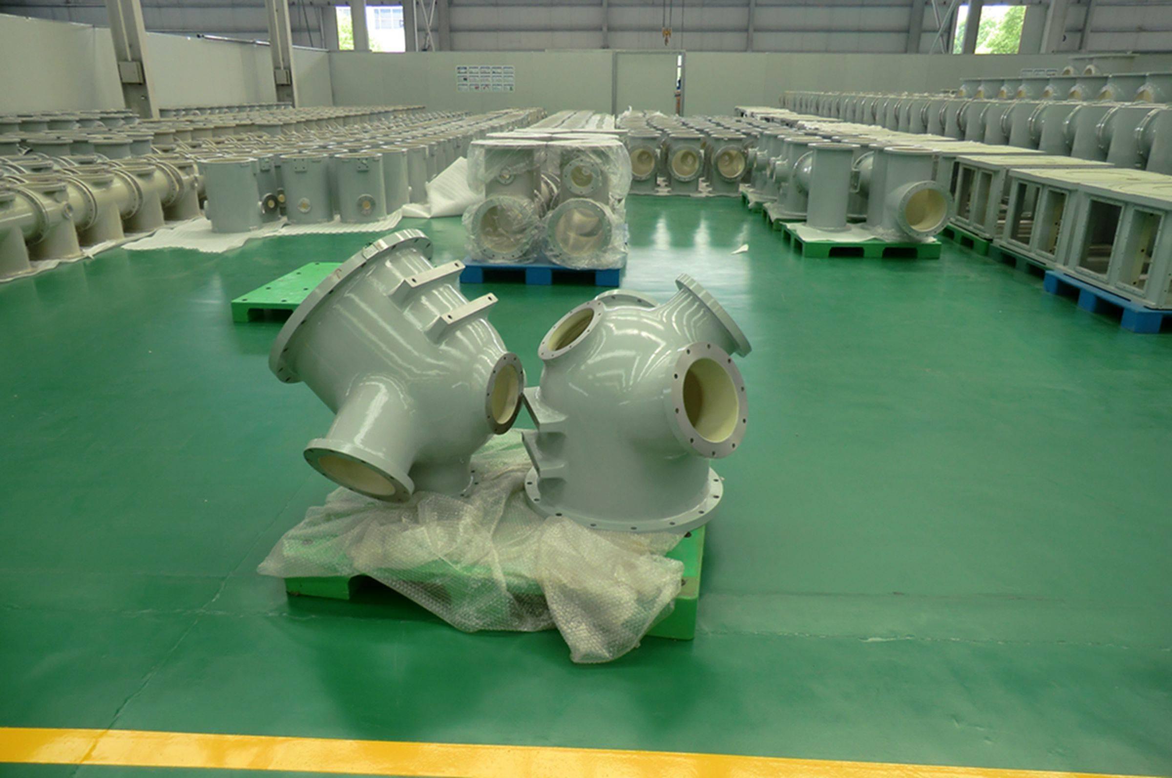 GIS aluminum alloy enclosure