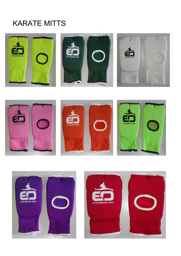 Karate Mitts,Karate Hand Protector,Padded Gloves,Fitness Gloves,Martial Arts Gloves,