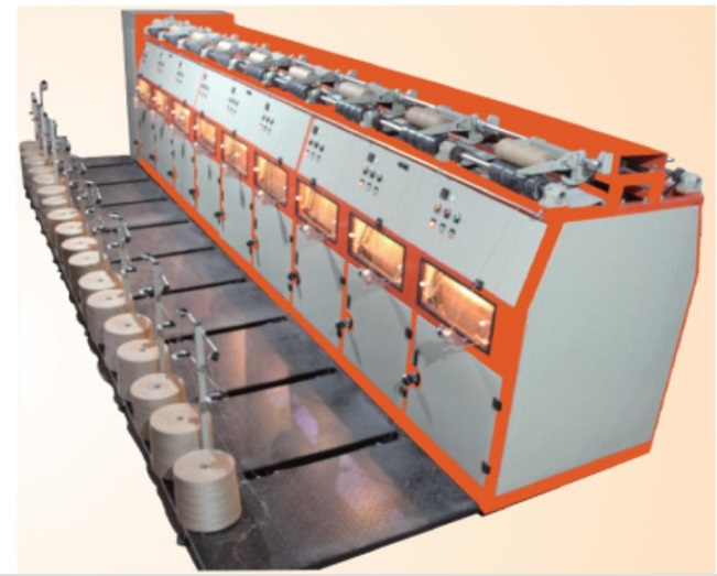 SJ-K18 Jute yarns doubling&winding machine