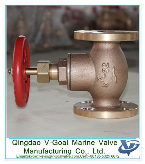 JIS Marine Bronze Screw Down Check Globle Valve F7351 5K SDNR