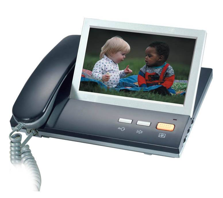 7'' Color Video Door Phone with Handset