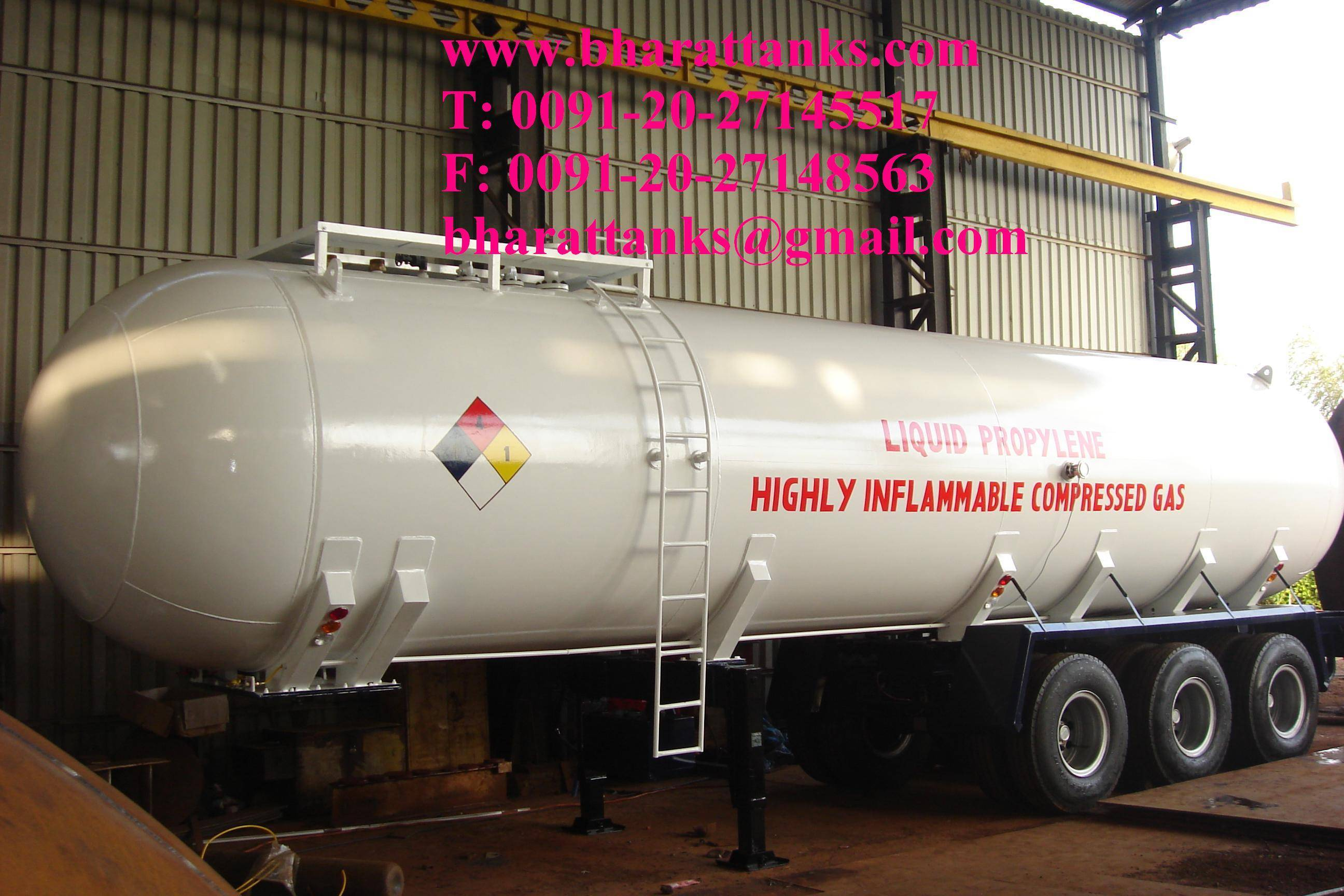 Liquid Propylene Gas Storage Tank