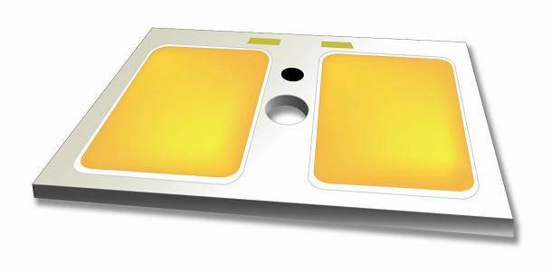 [COB] High power multi chip array LED - B07R2 Series (6W) - 15x17,17x20 PCB (white)
