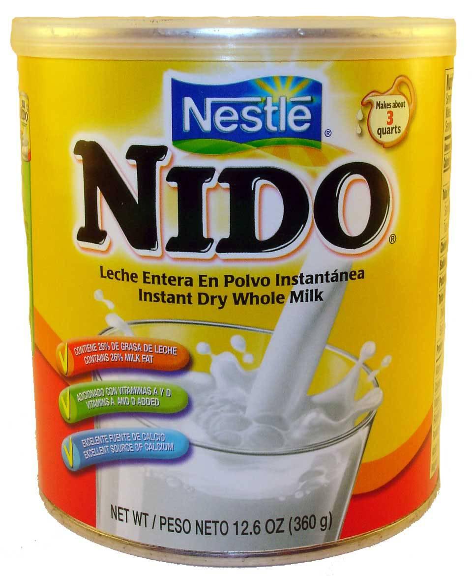 Instant Full Cream Nestle Nido Milk Powder