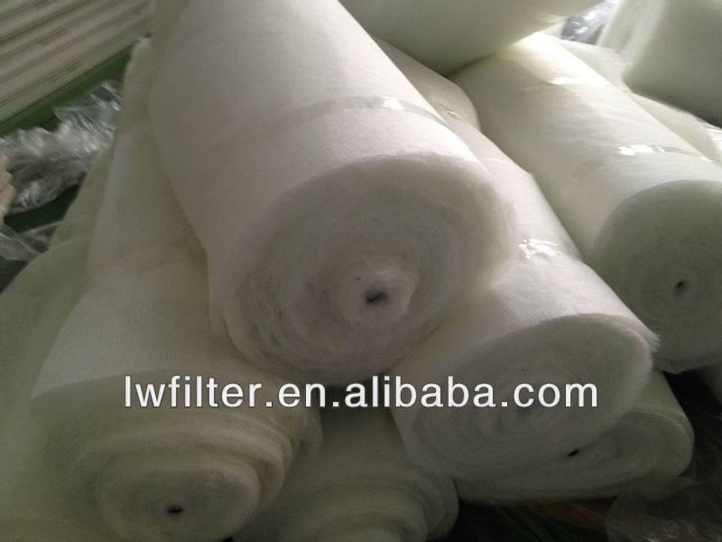 AAF types autoroll air filter media, roll o Mat filter by cores,fiberglass autoroll filter with oil