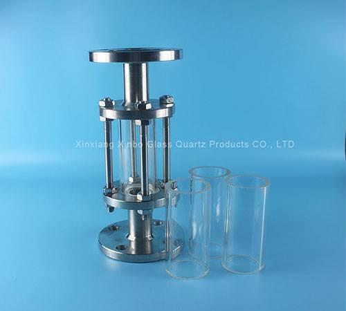 borosilicate transparent gauge glass