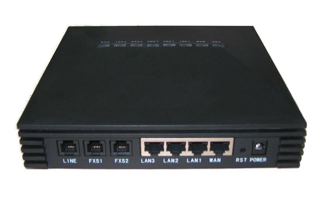 Provide Rich Function 2 ports VoIPGateway FV8028(1 WAN port+3LAN port+2 FXS port+1Lifeline Port)