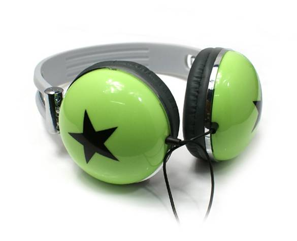 promotional stereo headphone