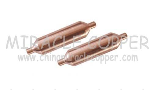 Refrigeration Copper Filter Drier Copper Strainer Big Filter Drier Accumulator