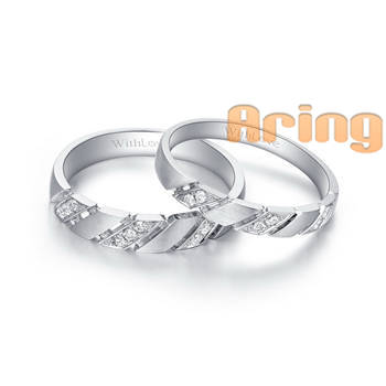 Wholesale 18k Gold Jewelry White Gold Diamonds Weddings Rings bands