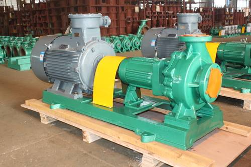 IHF lined-in PTFE Fluoroplastic Centrifugal Pump