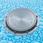 SMC Composite Manhole Cover (Clear Open 650mm A15+, A50, B125, C250)