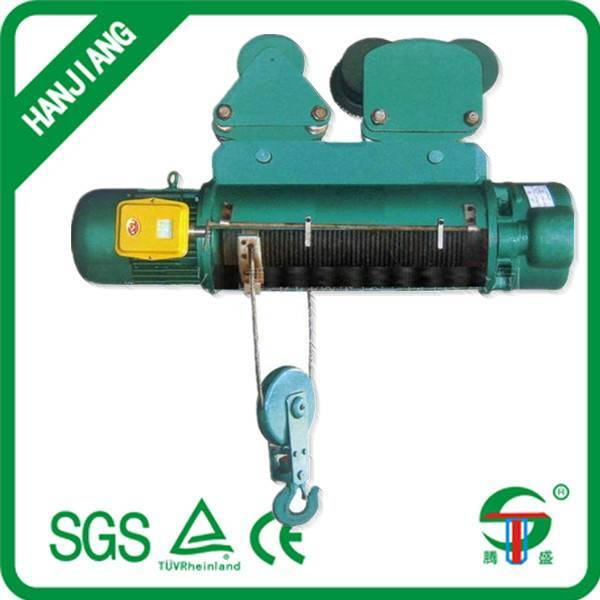 CD1 Wire Rope Electric Hoists 0.25TON to 10 Ton