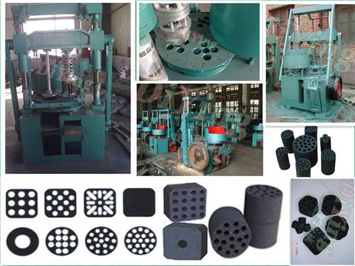 High density Low price High efficiency High quality Honeycomb coal briquetting machine