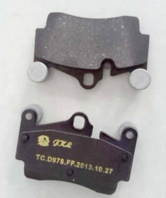 D978 disc brake pad for Porshe, VW, Q7