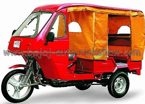 Bajaj Auto Rickshaw Mishuk passenger motor tricycle BA150ZK-7A