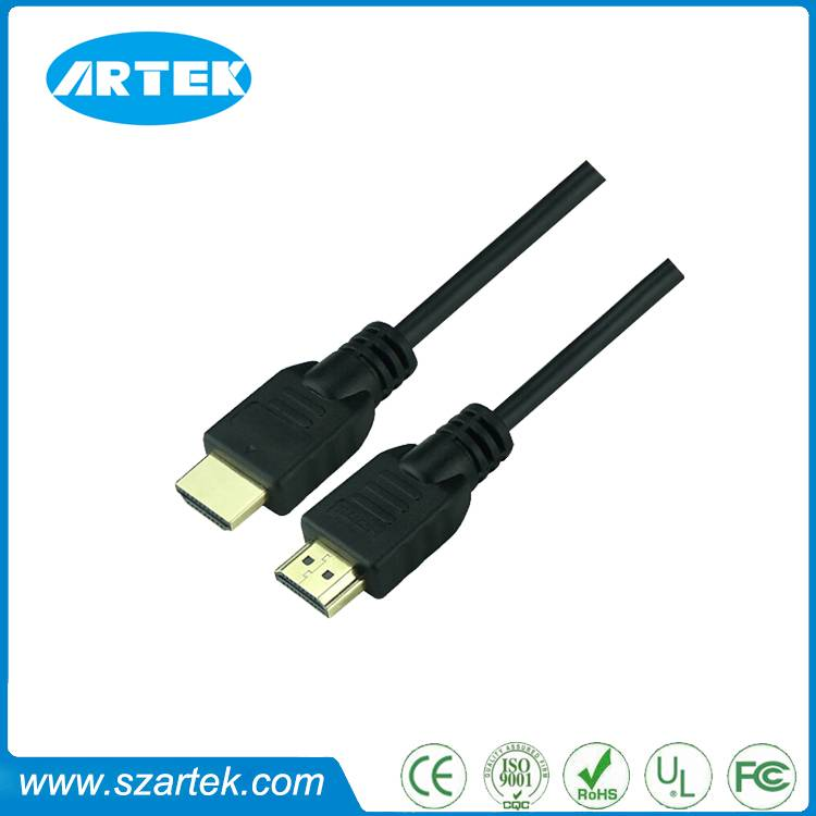 1.4v gold plated hdmi cable support 4k2k 1080p