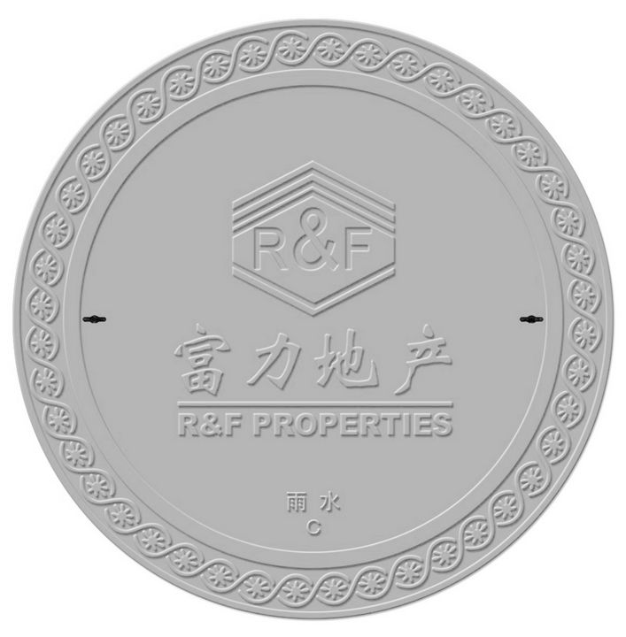 Customized SMC composite round manhole cover with CE certification