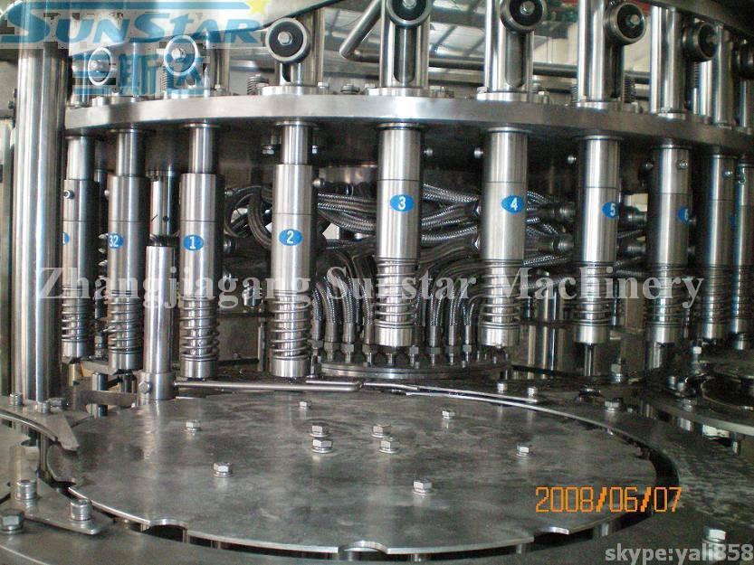 Bottled Juice Tea Beverage Filling And Packing Machine (RCGF40-40-12)