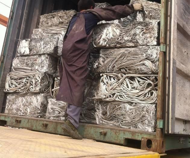 Aluminium scrap wire, Aluminum wire scrap, 99.7%