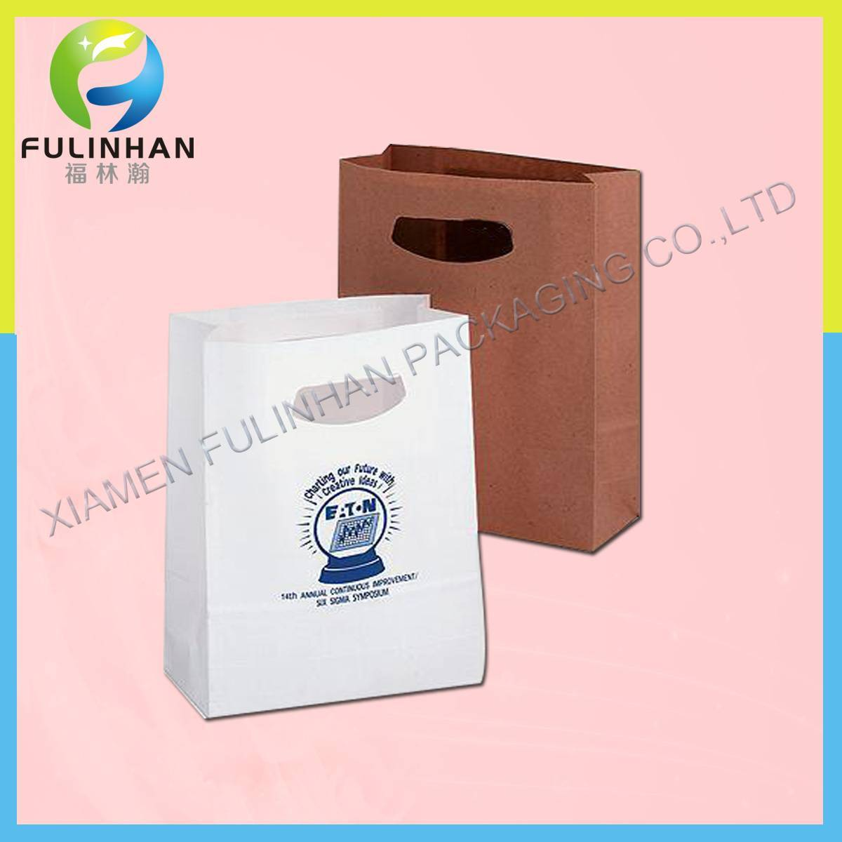 Custom Printed Paper Bags/shopping bags
