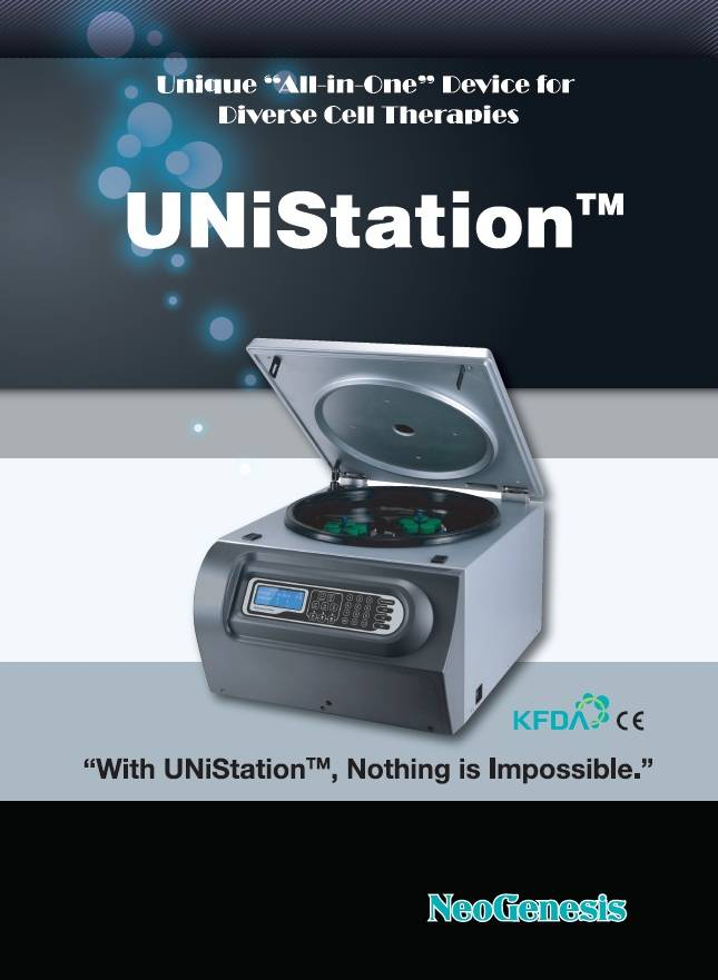 UNiStation, the Latest Stem Cell Isolation Device