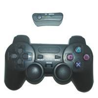 2.4 GHZ dual shock six axis wireless controller with bluetooth for playstation 3
