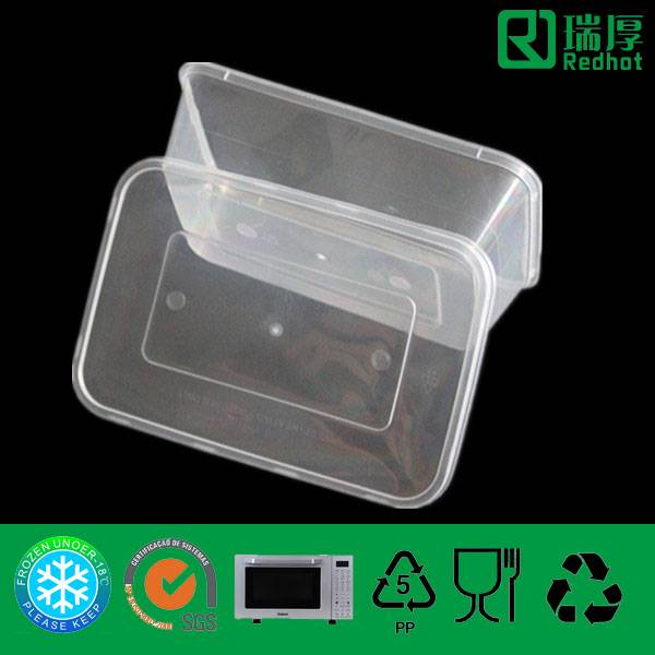 PP Fast Food Container Can Be Takenaway (500ml)