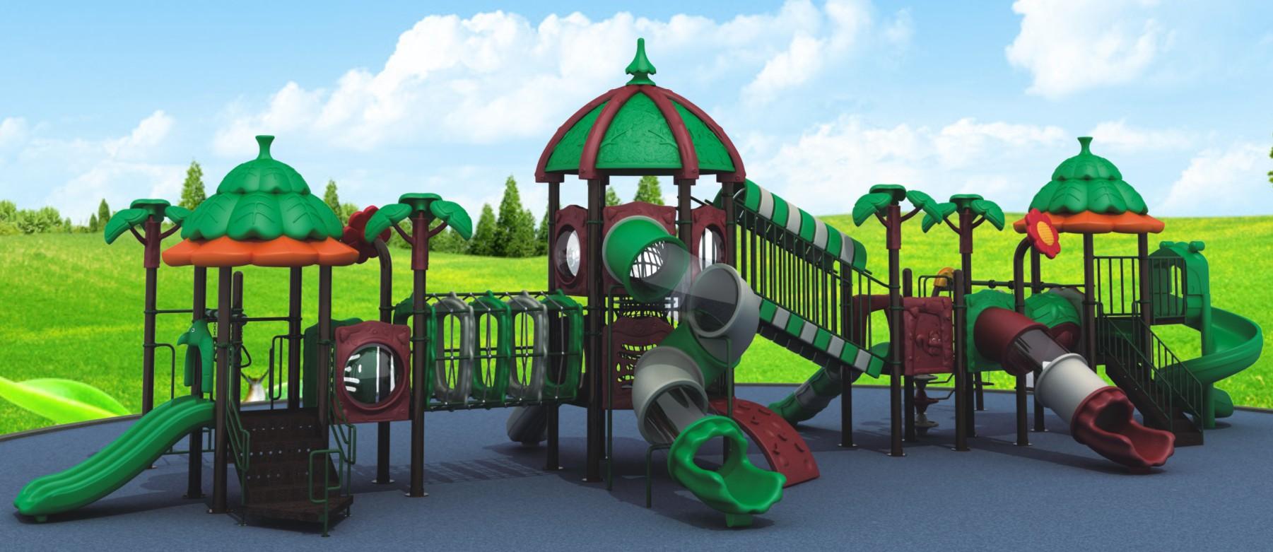 Children Outdoor Playground Kids Plastic Slide