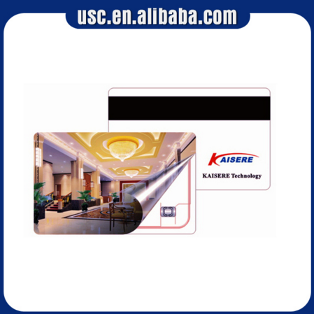 CR80 Full Color Printing Hico 2750oe Blank Magnetic Stripe Card Membership PVC Blank
