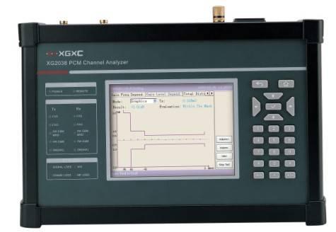 Exchanger test equipment