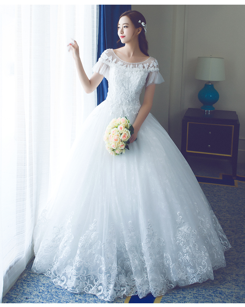 2017 wedding dress gor bridal china cheap wedding gown