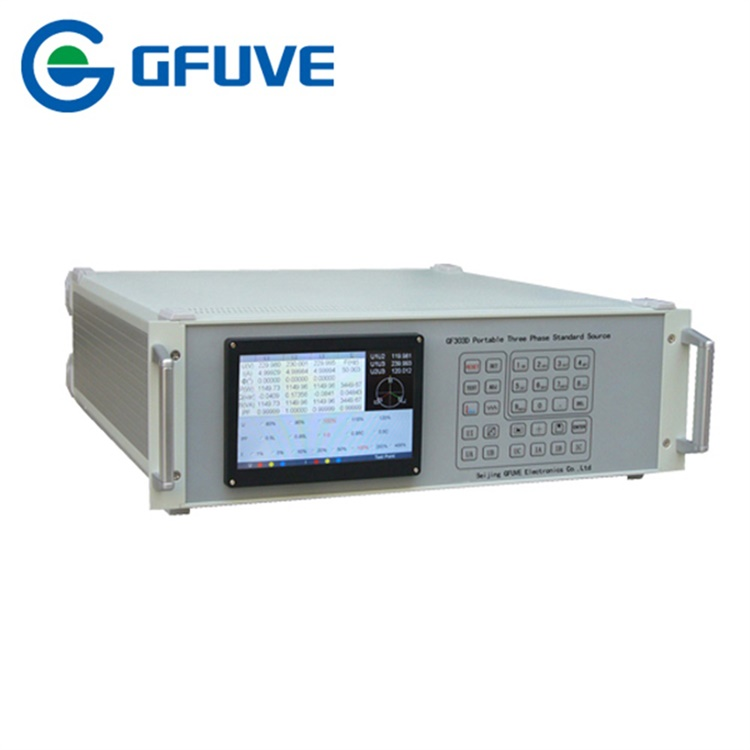 303D portable Three Phase Standard Source(100A)