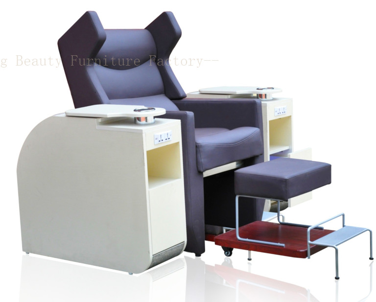 Salon Spa Pedicure Chair hiddenable sink XY-89104