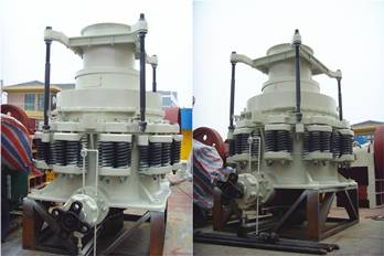 Feature of spring cone crusherFeature of spring cone crusher