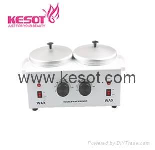 Double paraffin wax heater