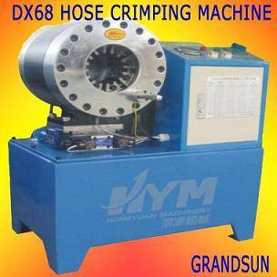 Model DX68 pipe locking machine