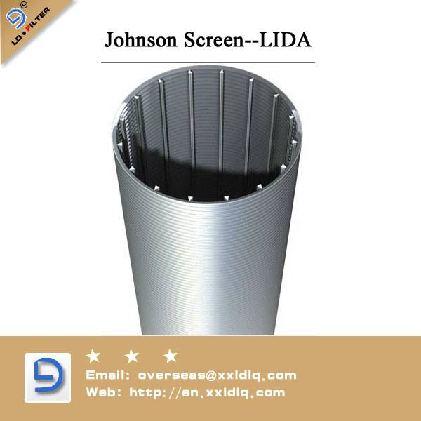 Vee-Wire Screen Pipe from Lida factory