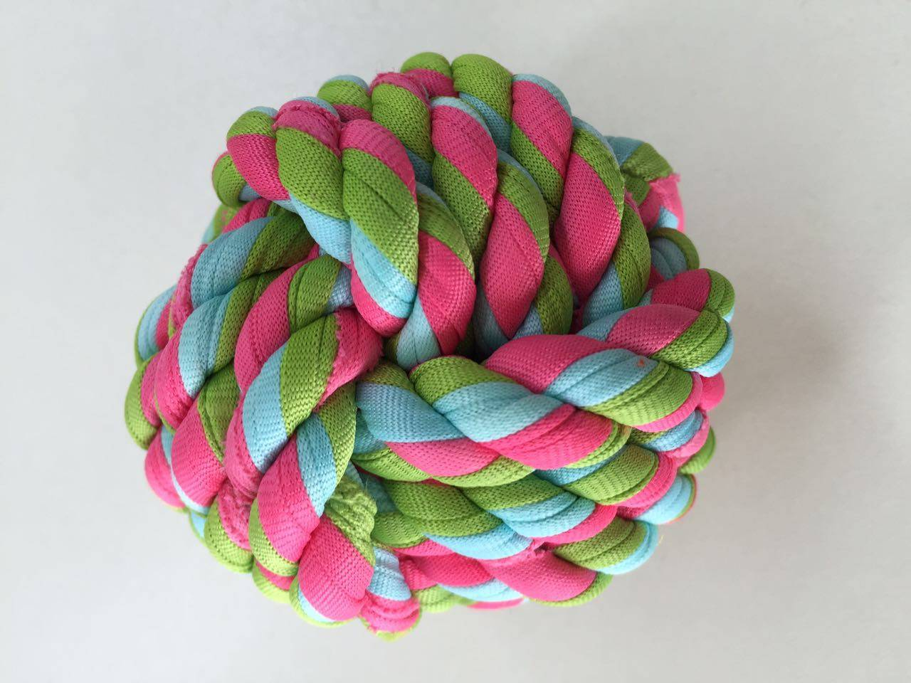 Rope pet toy ball XPT2162