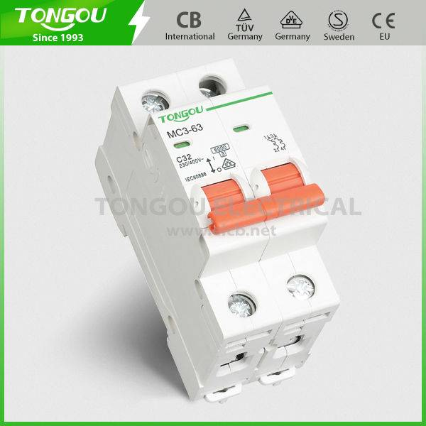 TOMC3-63 series Mini Circuit Breaker