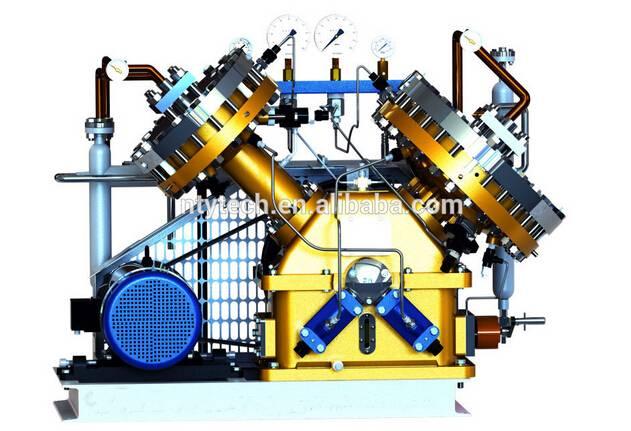 16MPa Outlet Pressure Carbonyl Sulfide Rare Gas Diaphragm/Membrane Compressor