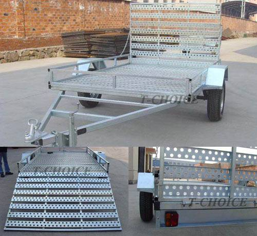 New style Galvanized ATV Trailer