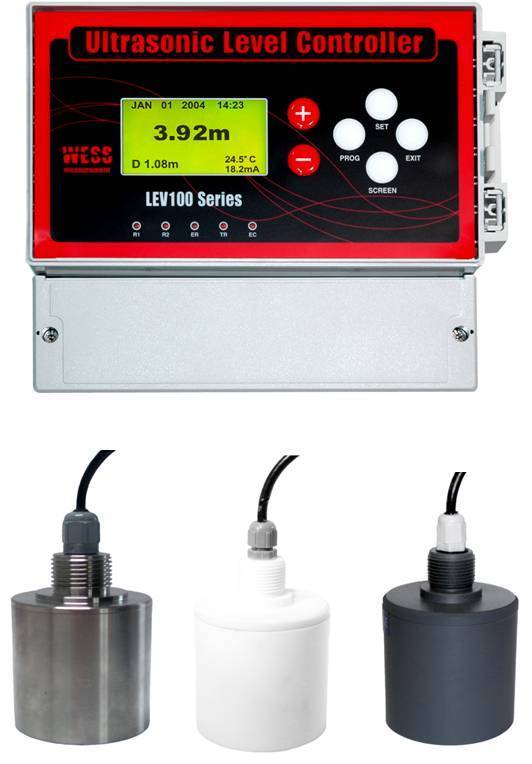 Ultrasonic Level Meter - LEV100